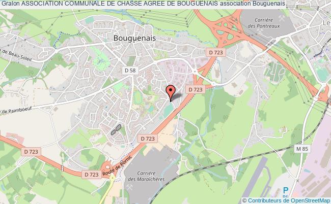 plan association Association Communale De Chasse Agree De Bouguenais