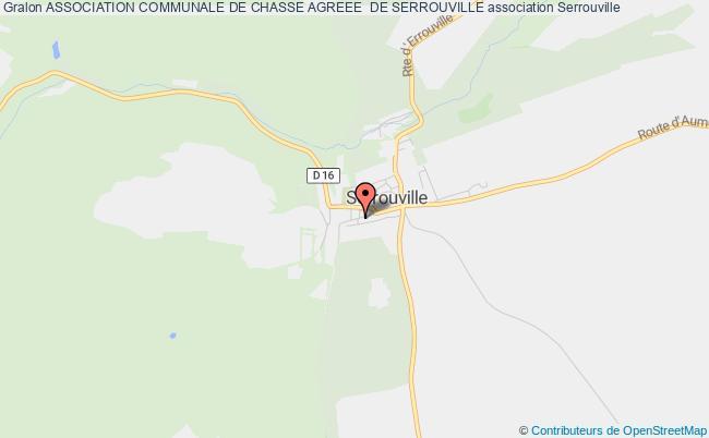 plan association Association Communale De Chasse Agreee  De Serrouville