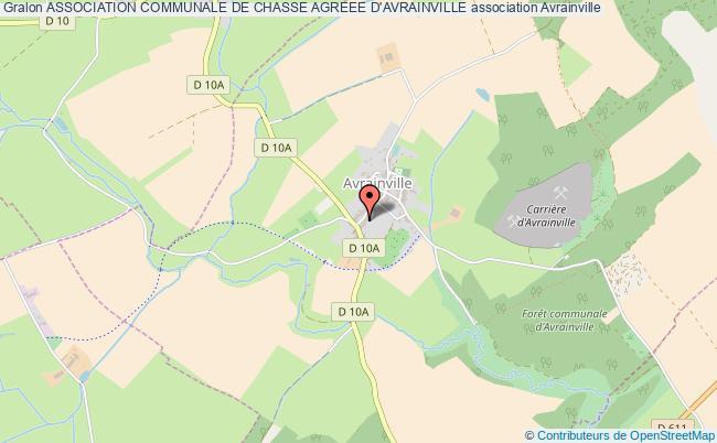 plan association Association Communale De Chasse Agreee D'avrainville