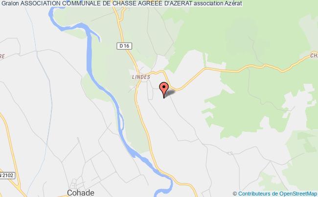 plan association Association Communale De Chasse Agreee D'azerat Azérat