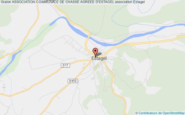 plan association Association Communale De Chasse Agreee D'estagel