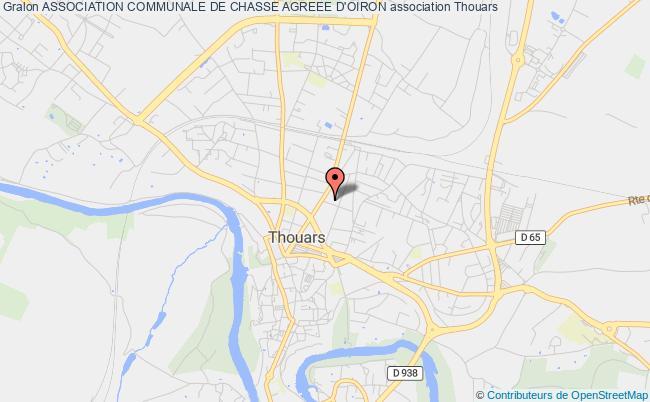 plan association Association Communale De Chasse Agreee D'oiron