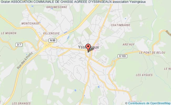 plan association Association Communale De Chasse Agreee D'yssingeaux Yssingeaux