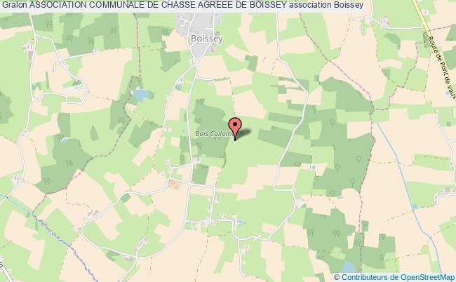 plan association Association Communale De Chasse Agreee De Boissey Boissey