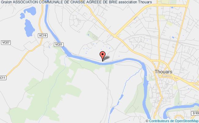 plan association Association Communale De Chasse Agreee De Brie