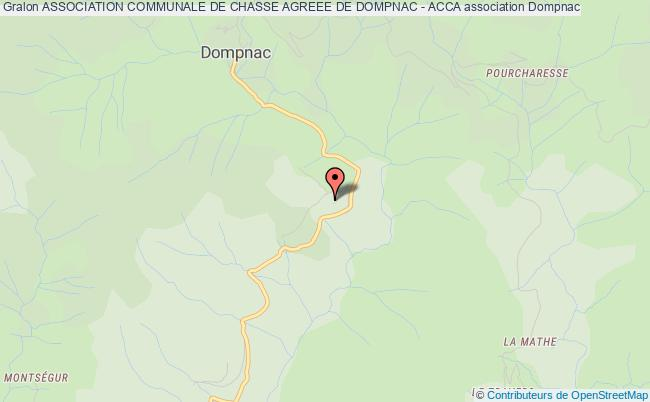 ASSOCIATION COMMUNALE DE CHASSE AGREEE DE DOMPNAC - ACCA