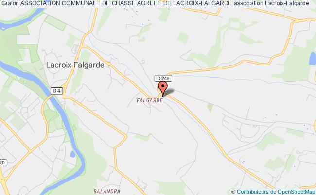 plan association Association Communale De Chasse Agreee De La Commune De Lacroix-falgarde