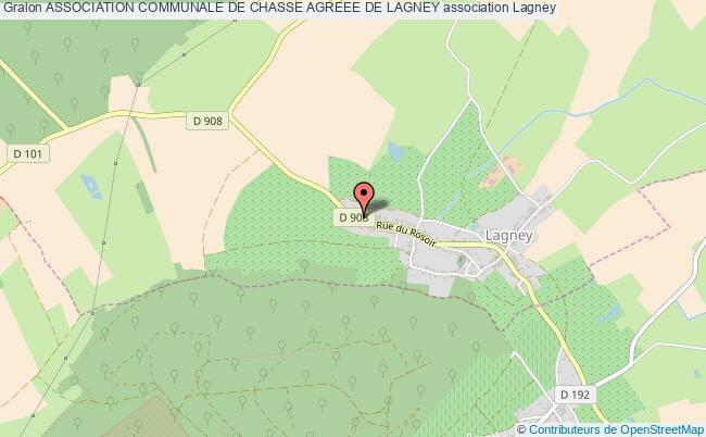 plan association Association Communale De Chasse Agreee De Lagney