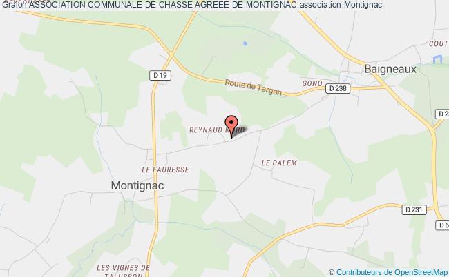 plan association Association Communale De Chasse Agreee De Montignac