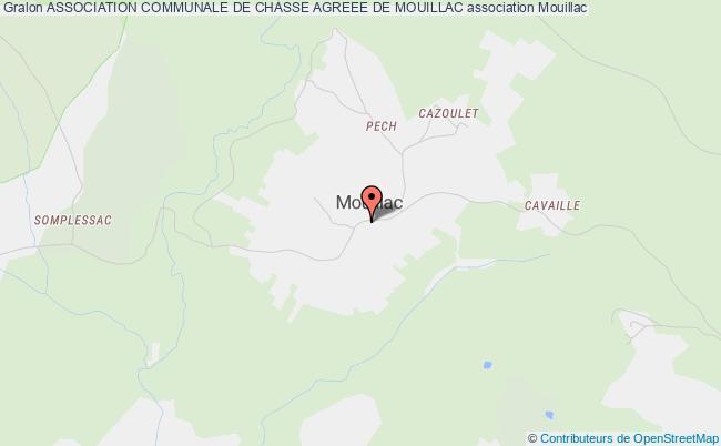 plan association Association Communale De Chasse Agreee De Mouillac