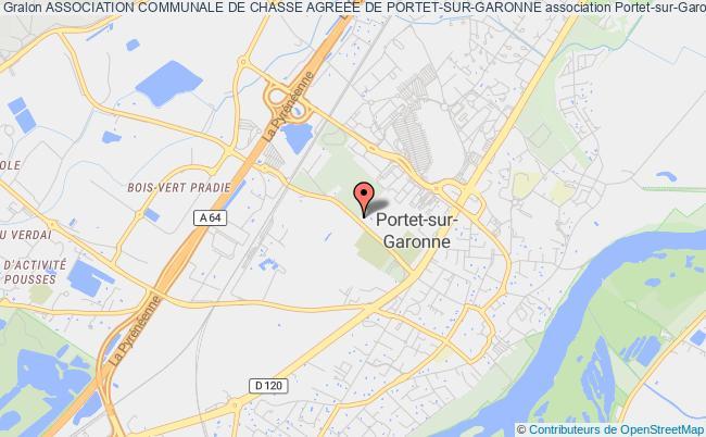 plan association Association Communale De Chasse Agreee De Portet-sur-garonne