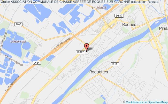 plan association Association Communale De Chasse Agreee De Roques-sur-garonne