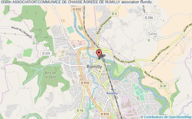 plan association Association Communale De Chasse Agreee De Rumilly Rumilly