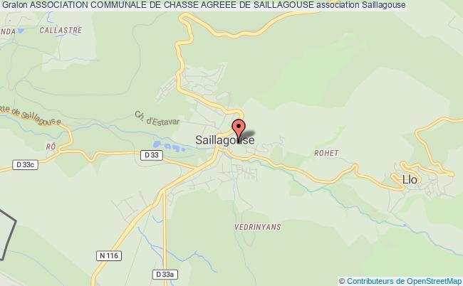 plan association Association Communale De Chasse Agreee De Saillagouse Saillagouse