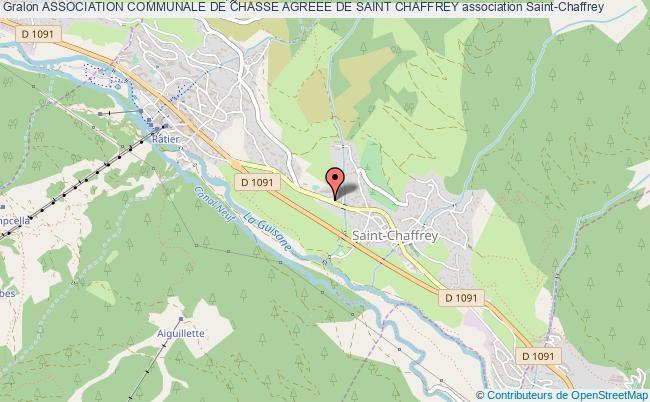 plan association Association Communale De Chasse Agreee De Saint Chaffrey