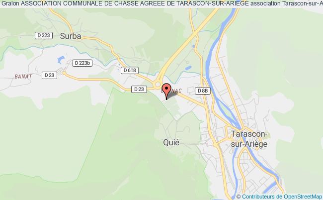 plan association Association Communale De Chasse Agreee De Tarascon-sur-ariege Tarascon-sur-Ariège