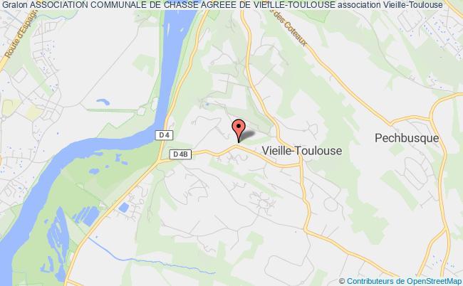 plan association Association Communale De Chasse Agreee De Vieille-toulouse