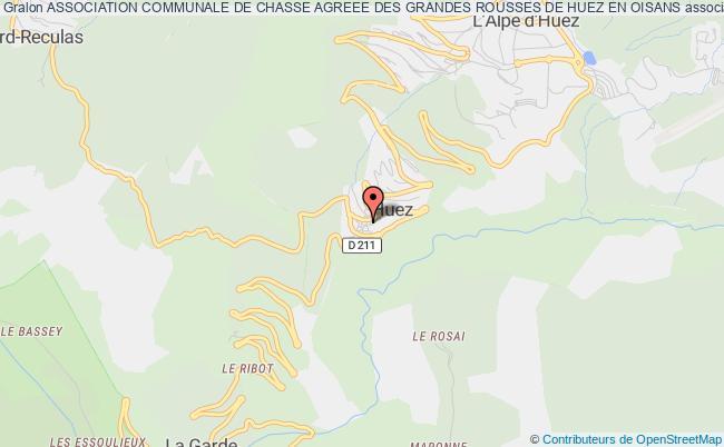 plan association Association Communale De Chasse Agreee Des Grandes Rousses De Huez En Oisans