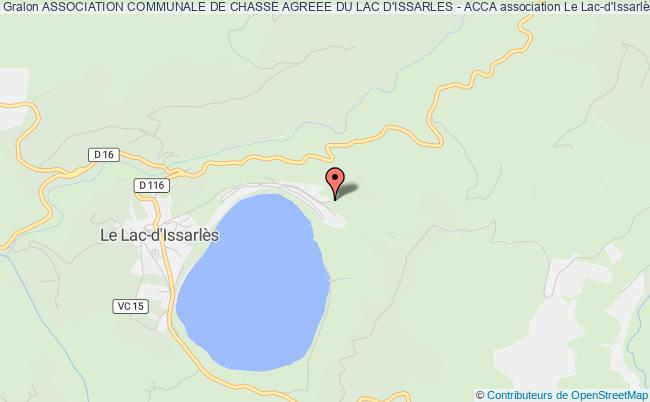 ASSOCIATION COMMUNALE DE CHASSE AGREEE DU LAC D'ISSARLES - ACCA