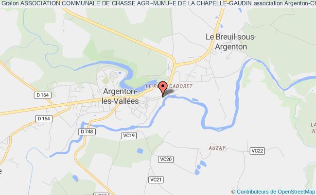 plan association Association Communale De Chasse Agr~mjmj~e De La Chapelle-gaudin