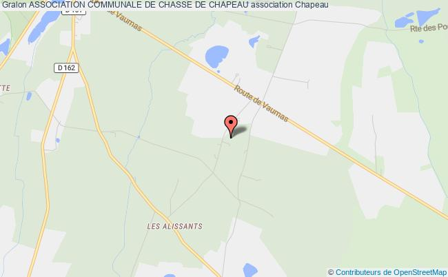 plan association Association Communale De Chasse De Chapeau