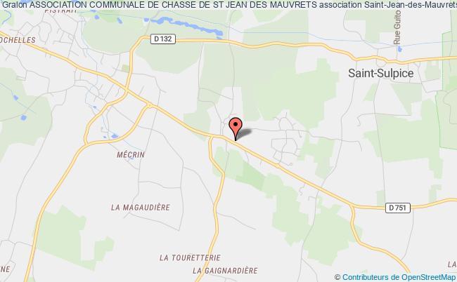 plan association Association Communale De Chasse De St Jean Des Mauvrets