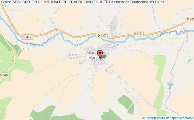 plan association Association Communale De Chasse Saint Hubert