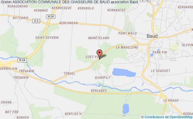 plan association Association Communale Des Chasseurs De Baud Baud