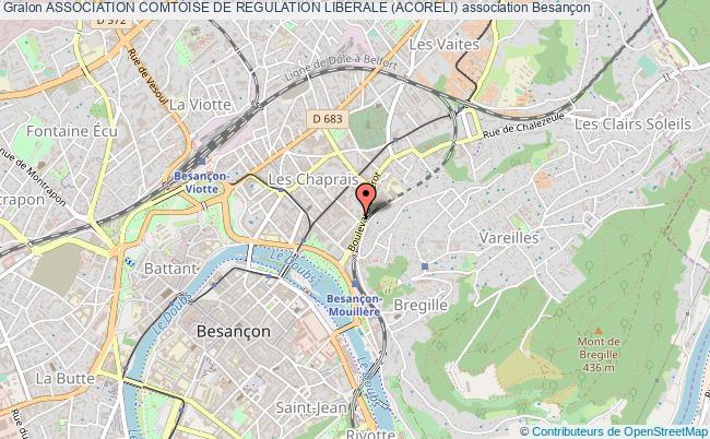 plan association Association Comtoise De Regulation Liberale (acoreli)