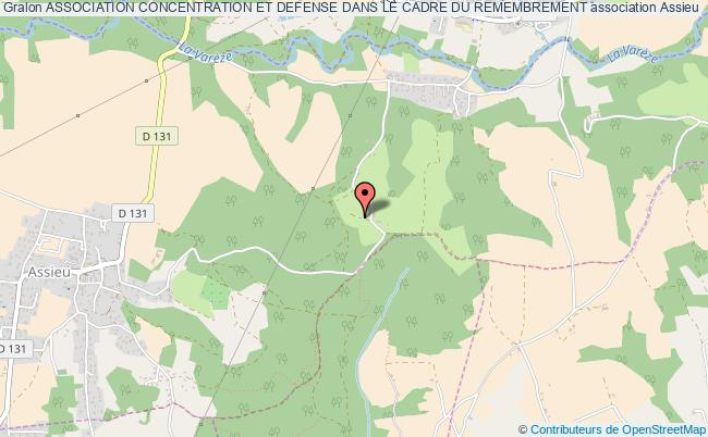 plan association Association Concentration Et Defense Dans Le Cadre Du Remembrement