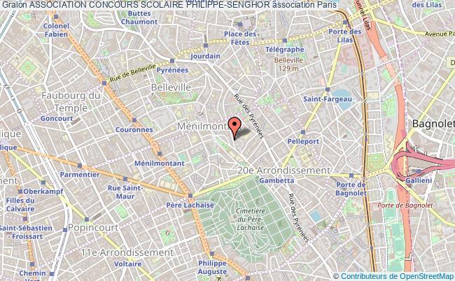 plan association Association Concours Scolaire Philippe-senghor Paris