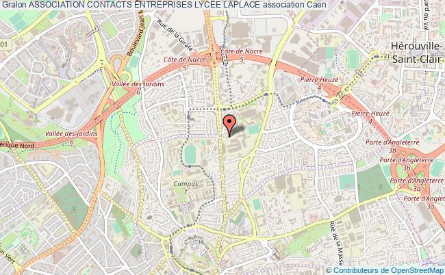 plan association Association Contacts Entreprises Lycee Laplace