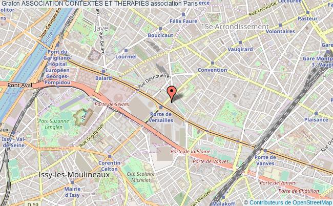 plan association Association Contextes Et Therapies Paris