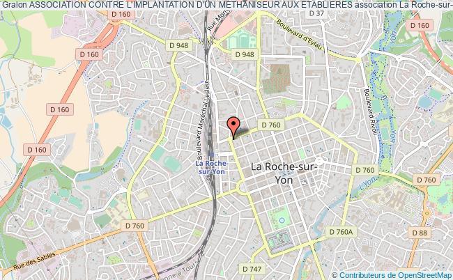 plan association Association Contre L'implantation D'un Methaniseur Aux Etablieres La Roche-sur-Yon