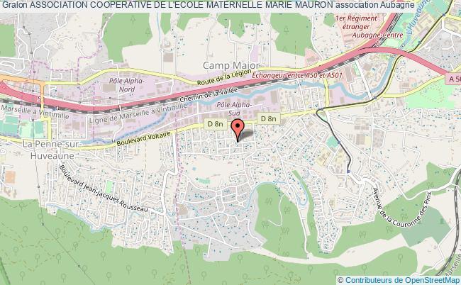 plan association Association Cooperative De L'ecole Maternelle Marie Mauron