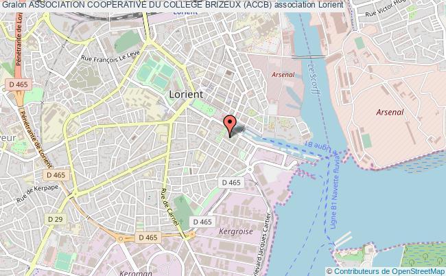 plan association Association Cooperative Du College Brizeux (accb)