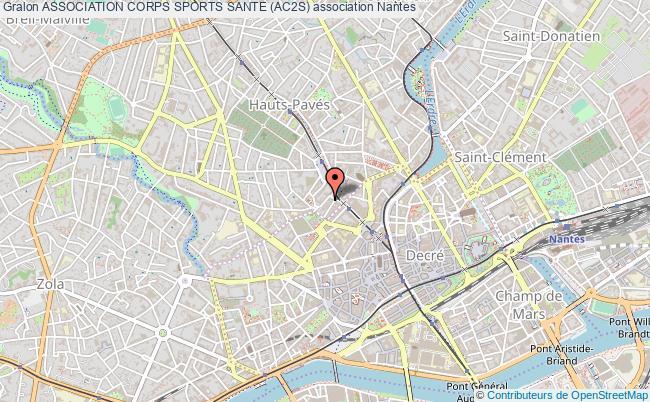 plan association Association Corps Sports Sante (ac2s)