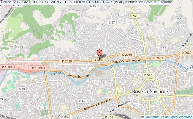 plan association Association Correzienne Des Infirmiers Liberaux (acil)