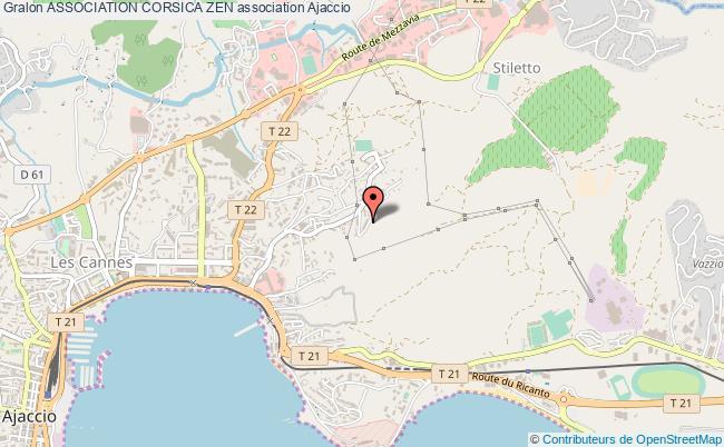 plan association Association Corsica Zen