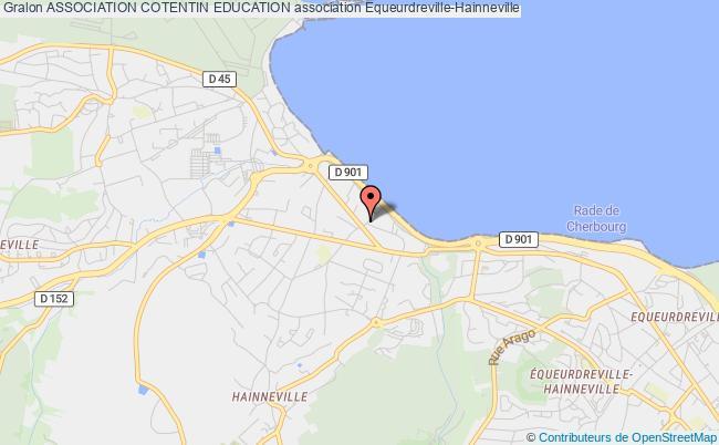 plan association Association Cotentin Education Équeurdreville-Hainneville