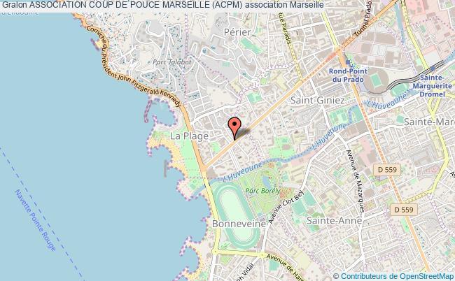 plan association Association Coup De Pouce Marseille (acpm) Marseille