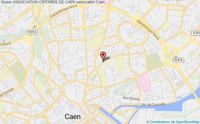 plan association Association Critarde De Caen Caen