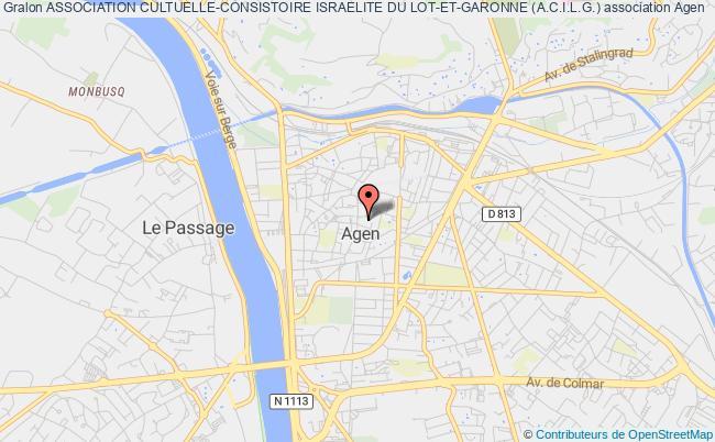plan association Association Cultuelle-consistoire Israelite Du Lot-et-garonne (a.c.i.l.g.)