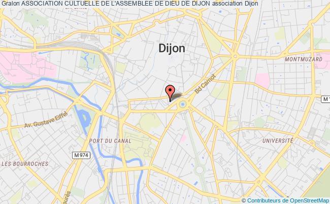plan association Association Cultuelle De L'assemblee De Dieu De Dijon