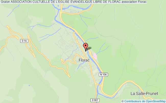 plan association Association Cultuelle De L'eglise ÉvangÉlique Libre De Florac