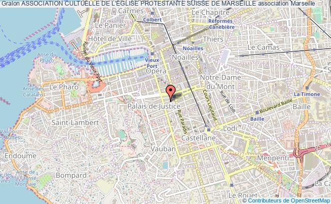 plan association Association Cultuelle De L'eglise Protestante Suisse De Marseille