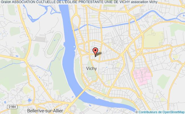 plan association Association Cultuelle De L'Église Protestante Unie De Vichy