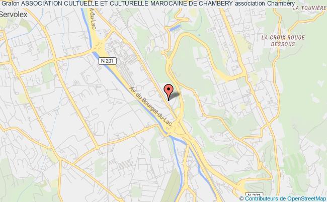 plan association Association Cultuelle Et Culturelle Marocaine De Chambery
