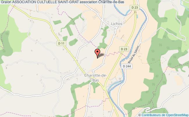 plan association Association Cultuelle Saint-grat