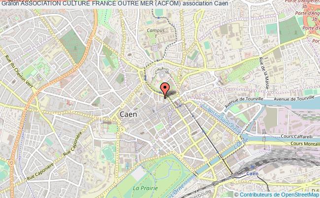 plan association Association Culture France Outre Mer (acfom) Caen